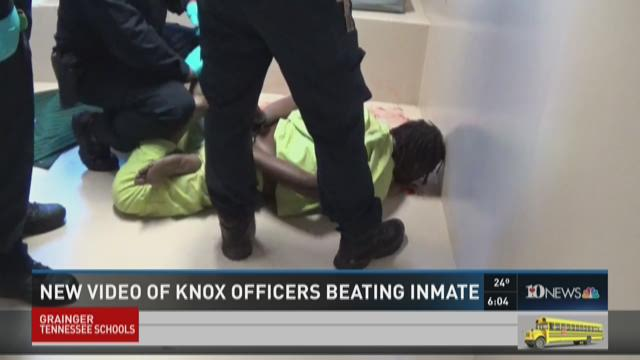 New video shows Knox officers beating...