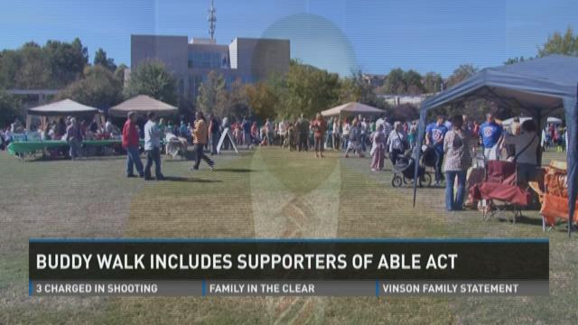 Buddy Walk promotes ABLE Act