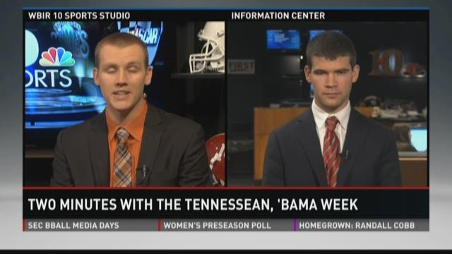 Two Minutes with the Tennessean: Alabama Week