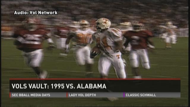 Vols Vault: 1995 Alabama