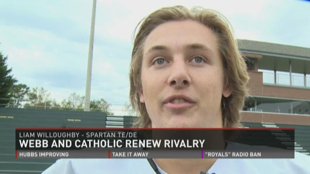 Webb takes on rival Catholic
