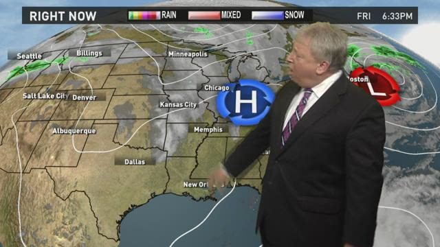 Forecast: Warmer, sunny weekend