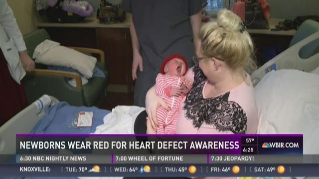 Volunteers needed to knit red hats for newborn babies