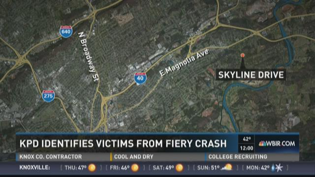 KPD identifies victims from fiery crash