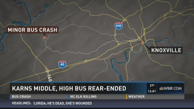 Knox County School bus crash
