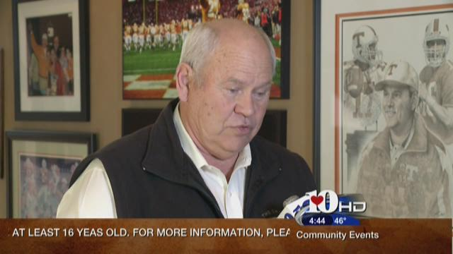 Phil Fulmer talks football