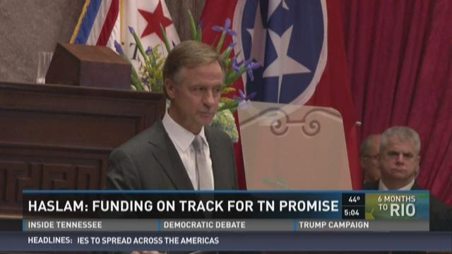 Tennessee Promise numbers for fall of 2015