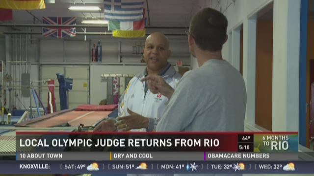 Local olympic judge returns from Rio