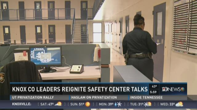 Knox County leaders reignite safety center talks