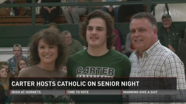 Carter hosts Catholic on Senior Day