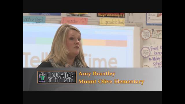 Amy Brantley - Educator of the Week 2/8