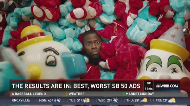 The results are in: Best, worst Super Bowl ads