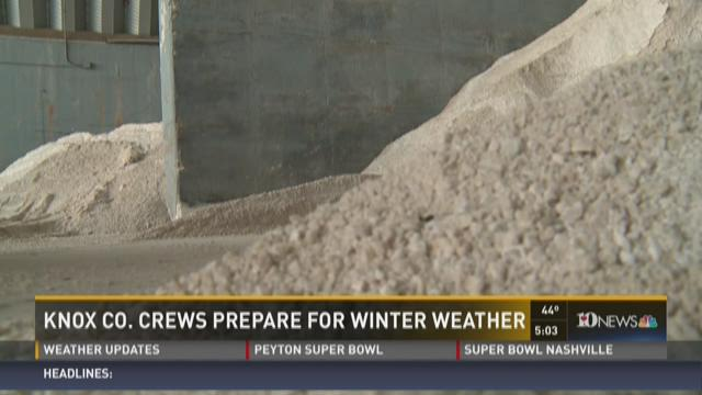 Knox Co. crews prepare for winter weather