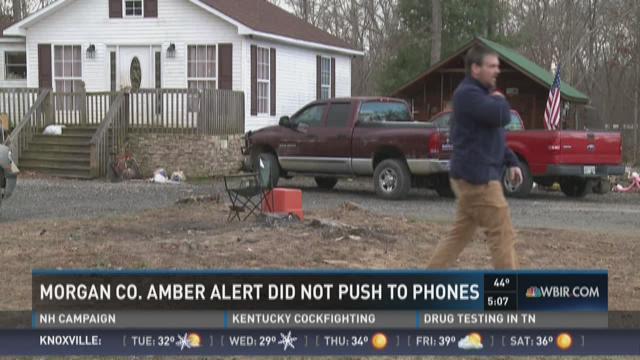 Morgan Co. Amber Alert didn't push to phones