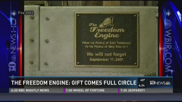 And Finally: Gift of Freedom Engine comes full circle