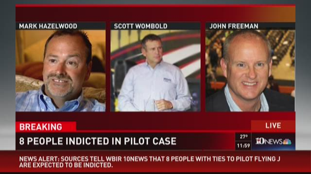 Eight people indicted in Pilot case