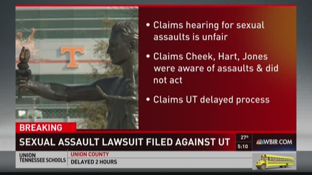 Sweeping sexual assault suit filed against UT