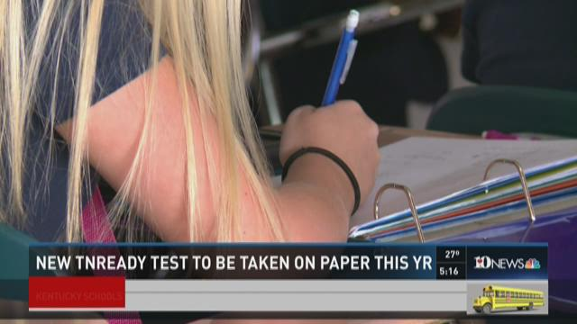 New TNReady test will be taken on paper