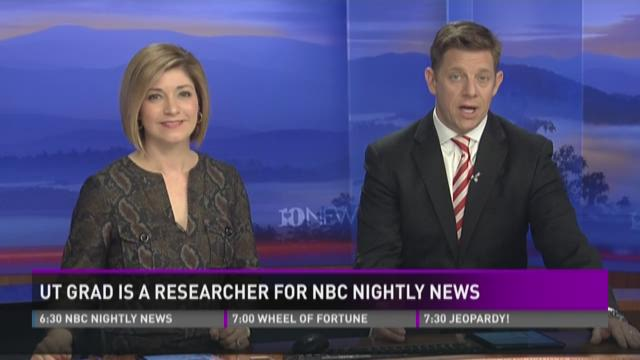 UT grad is researcher for NBC Nightly News