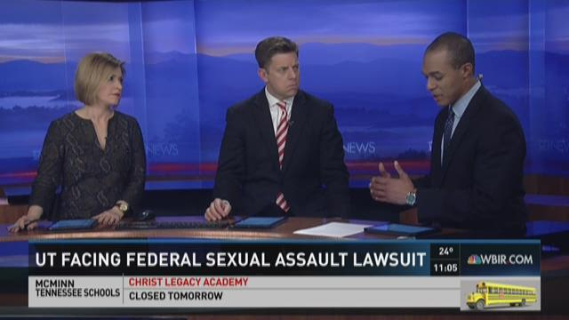 UT facing federal sexual assault lawsuit