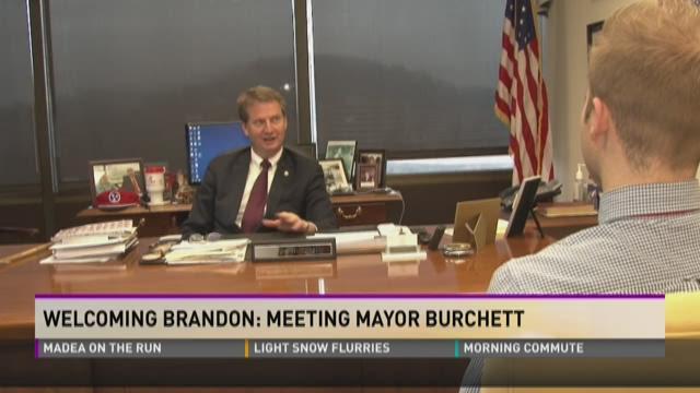 Welcoming Brandon: Meeting Mayor Tim Burchett