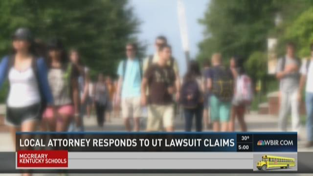 Local attorney responds to UT lawsuit claims