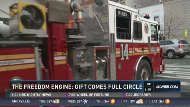 The Freedom Engine: Gift comes full circle