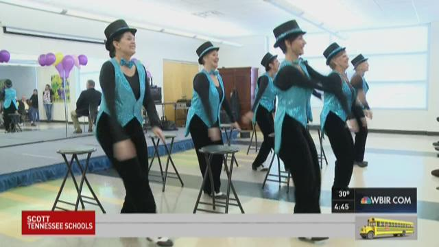 Tellico Tappers' Farewell performance