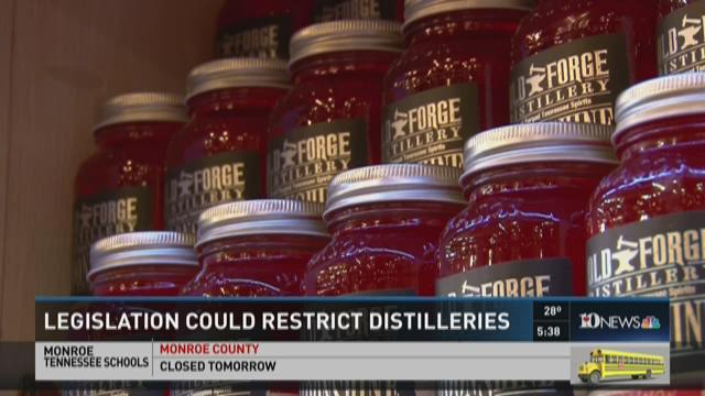 Legislation could restrict distilleries