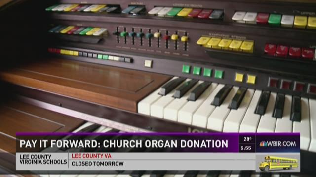 Pay if Forward: Church organ donation