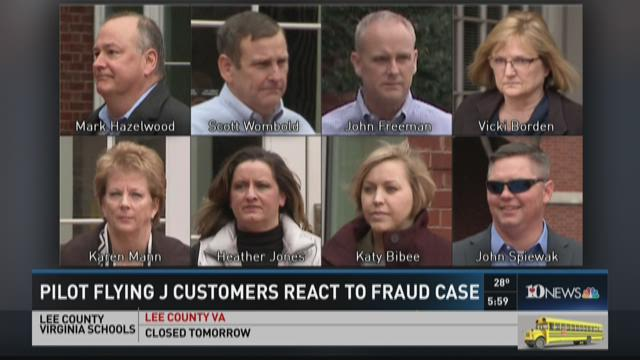 Pilot Flying J Customers react to fraud case