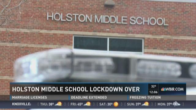 Holston Middle School lockdown over