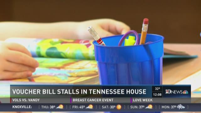 Voucher bill stalls in Tennessee House