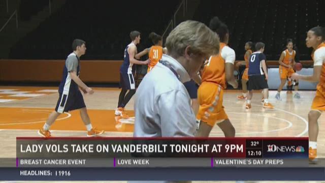 Lady Vols take on Vanderbilt Thursday at 9 p.m.