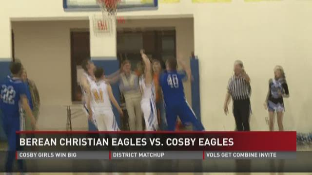 Cosby clinches district title in win over Berean Christian