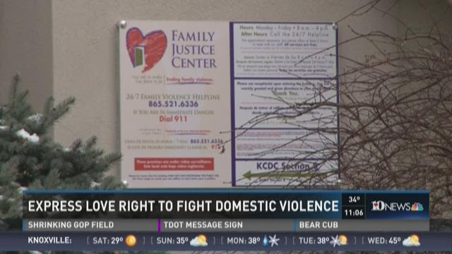 Fighting domestic violence in our community