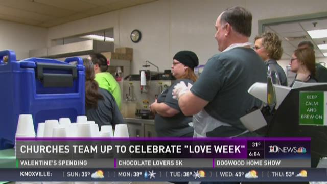 Churches team up for Love Week
