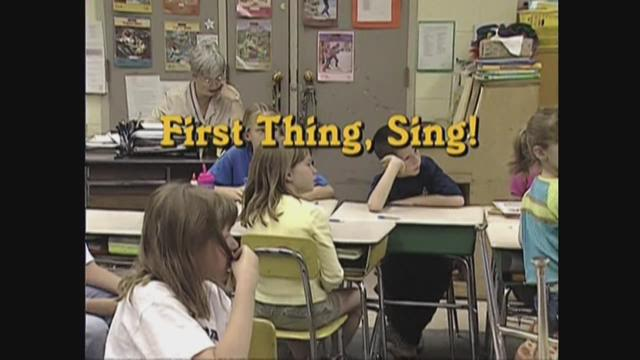 First Thing, Sing!