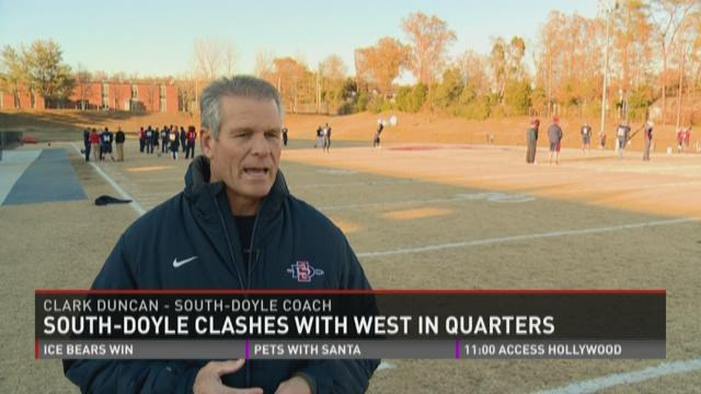 South Doyle set to face West in 5A quarters