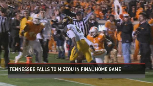 Missouri  29,  Tennessee 21 (Final)