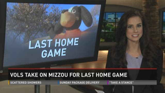 Vols take on Mizzou for last home game