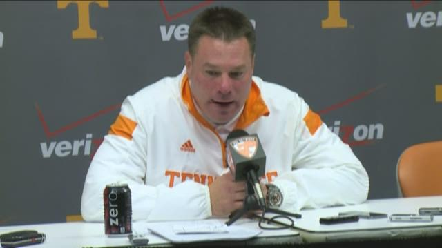 Butch Jones Press Conference- Missouri