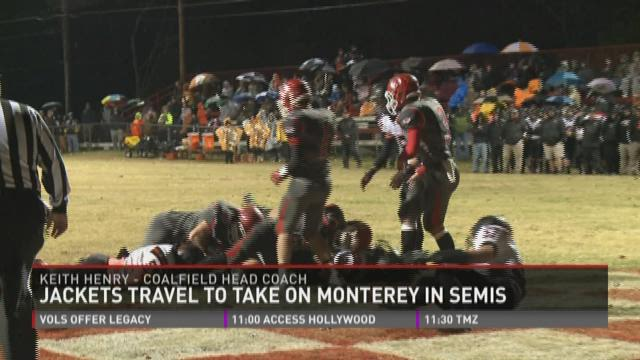 Coalfield takes on Monterey in the semifinals