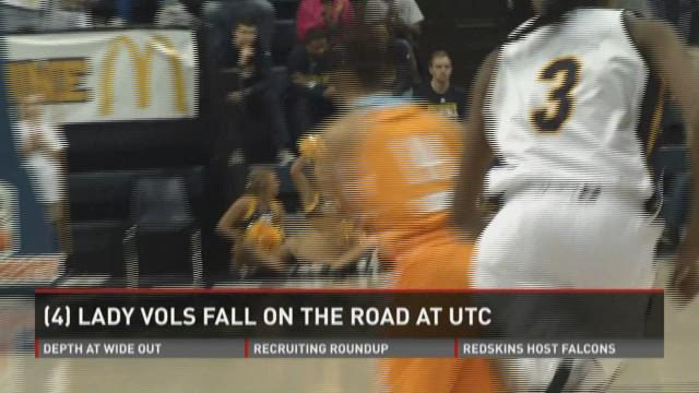 Chattanooga upsets No. 4 Lady Vols