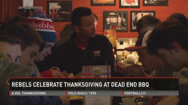 West Rebels enjoy Thanksgiving