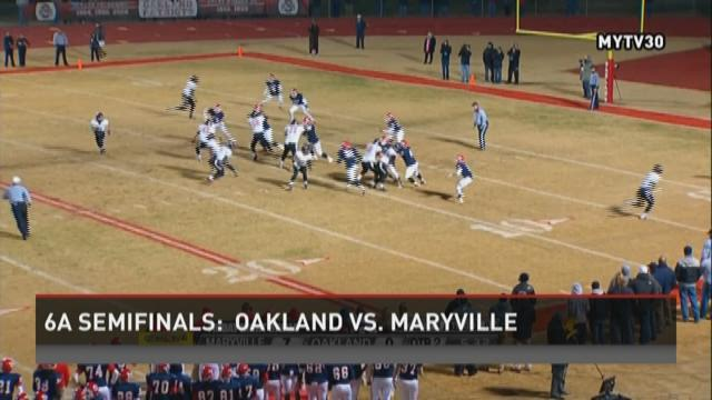 Maryville 26,  Oakland  14  (Final)