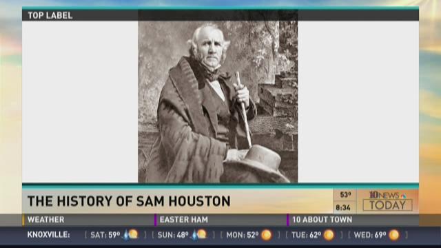 TN Travel: The history of Sam Houston
