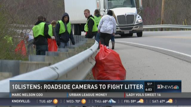 10Listens: Roadside cameras to fight litter