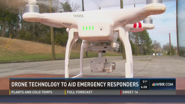 Drone technology to aid emergency responders