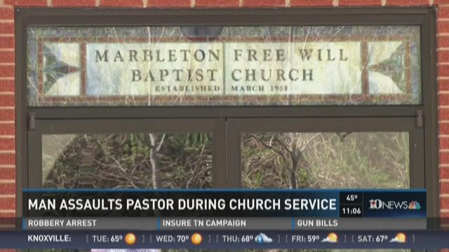 Member of congregation assaults pastor